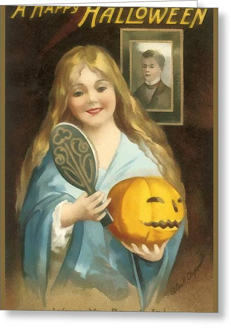 A Happy Halloween Greeting Card by Uknown