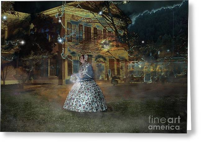 A Haunted Story In Dahlonega Greeting Card