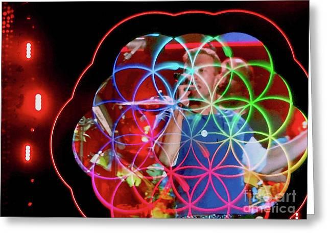 A Head Full Of Dreams - Chris Martin Greeting Card