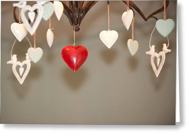 A Heart Among Hearts I Greeting Card