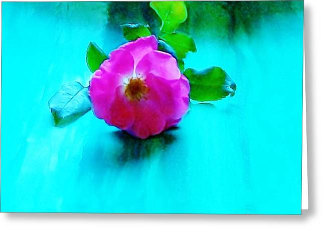 A Heavenly Rose Greeting Card by Marsha Heiken