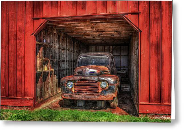 A Hiding Place 1949 Ford Pickup Truck Greeting Card