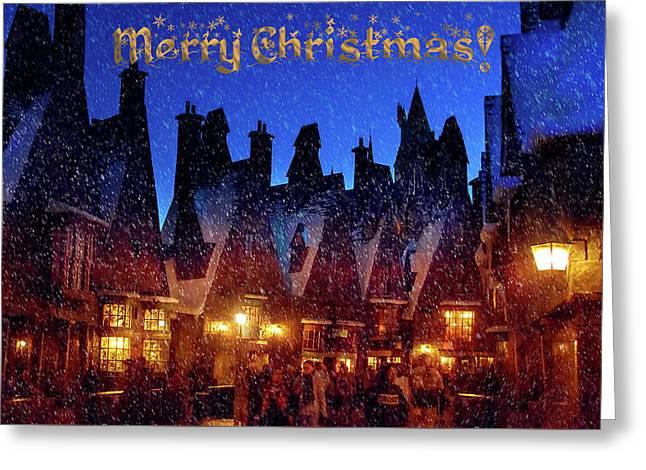 A Hogsmeade Christmas Greeting Card