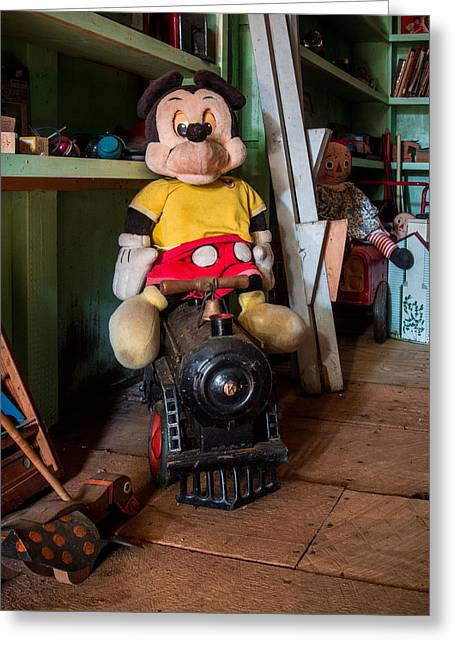 A Home For Mickey 2 Greeting Card by Lisa Bell