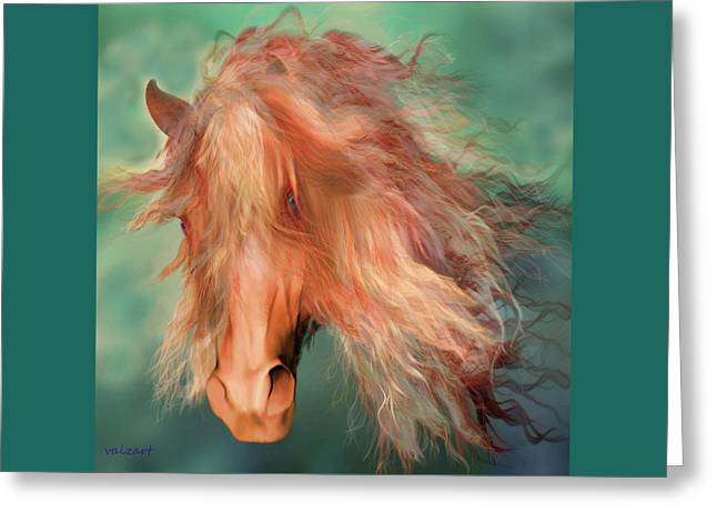 A Horse Called Copper Greeting Card