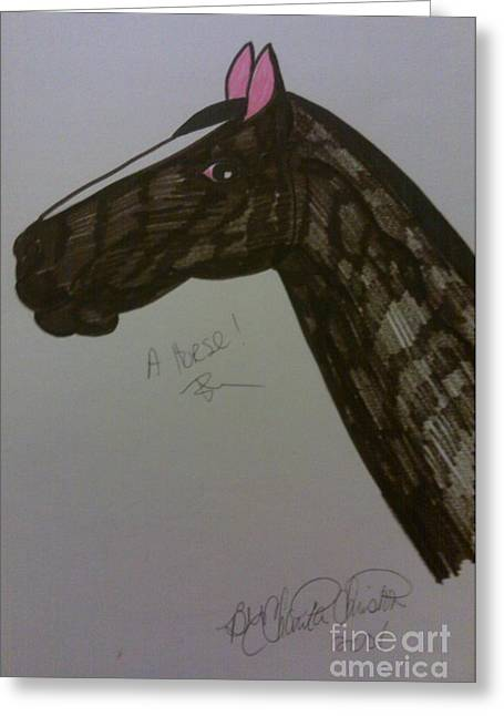 A Horse Greeting Card