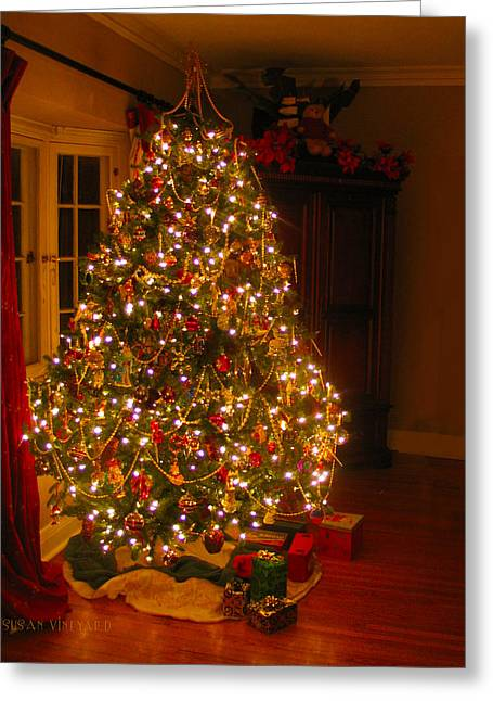 A Jewel Of A Christmas Tree Greeting Card