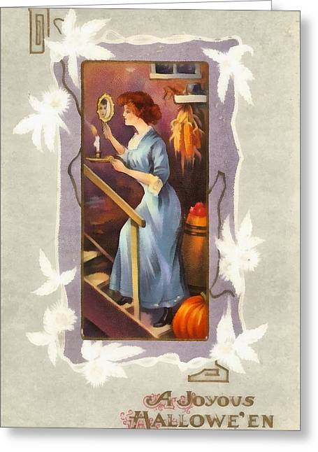 A Joyous Halloween Greeting Card by Unknown