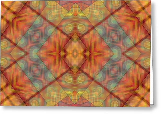 A Kaleidoscope Of Colors Greeting Card