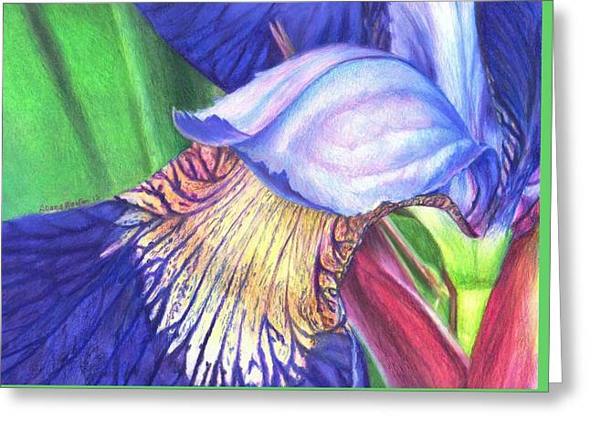 A Kiss From Iris Greeting Card