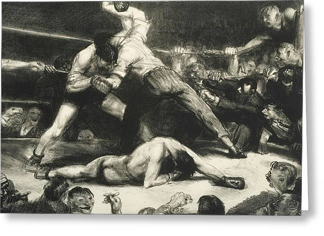 A Knock-out Greeting Card by George Bellows