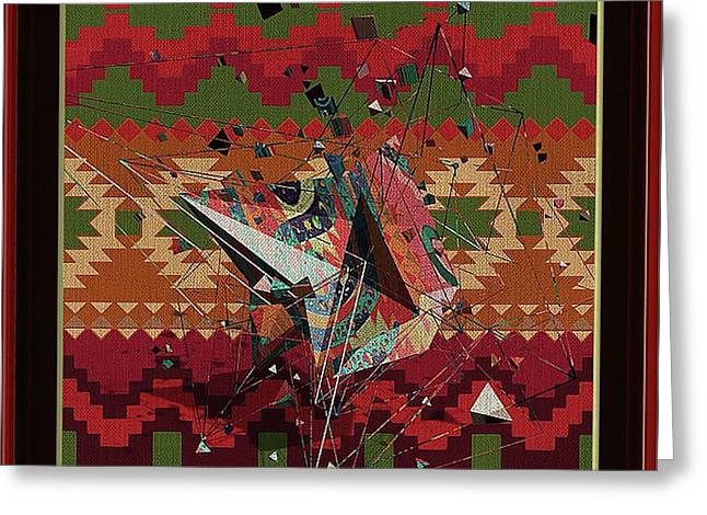 A La Kandinsky C1922 Greeting Card