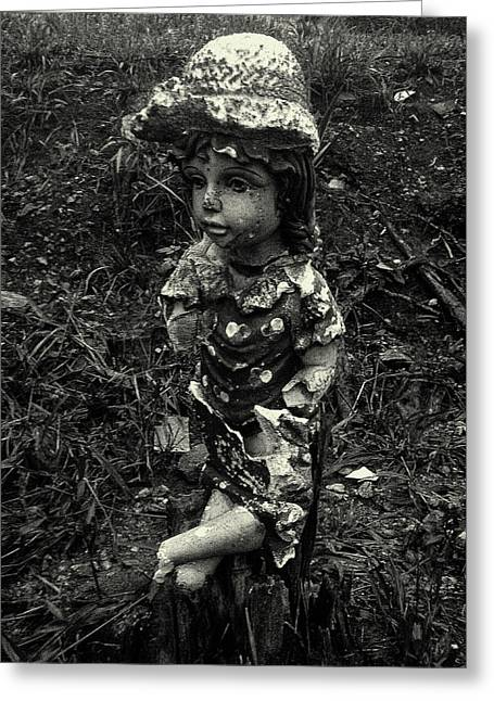 Greeting Card featuring the photograph A Lady by Amarildo Correa