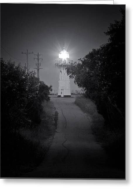 A Light In A Dark Place Greeting Card