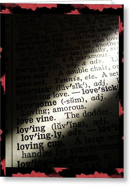 A Light On Love Greeting Card