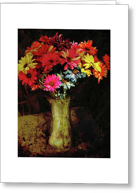 A Light Shines Into The Darkness Of My Soul Greeting Card
