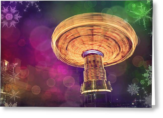 A Light Spin Greeting Card