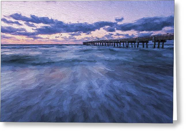A Little Closer II Greeting Card by Jon Glaser