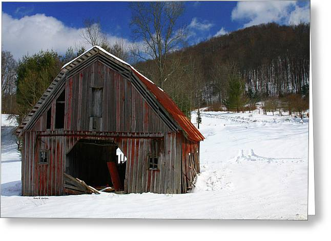 A Little Rust Greeting Card by Dale R Carlson