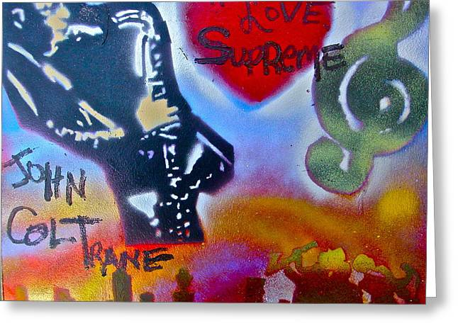 A Love Supreme Greeting Card by Tony B Conscious