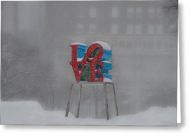 A Lovely Winters Day Greeting Card by Bill Cannon