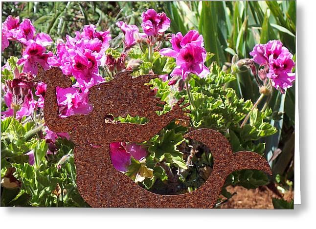 A Mermaid In My Garden Nb Greeting Card