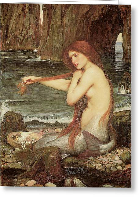 A Mermaid Greeting Card