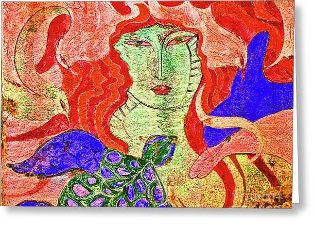 A Mermaids Life Greeting Card