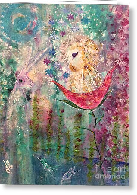 A Midday Dream Greeting Card