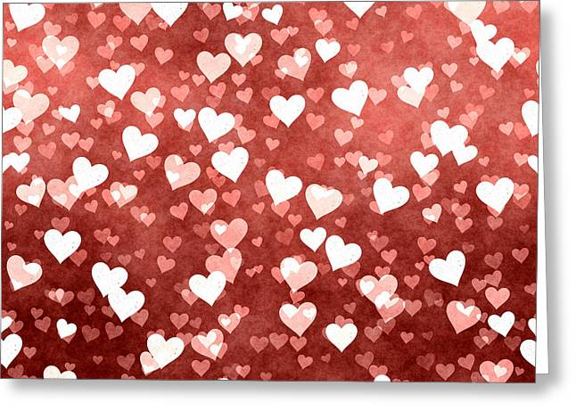 A Million Hearts Greeting Card