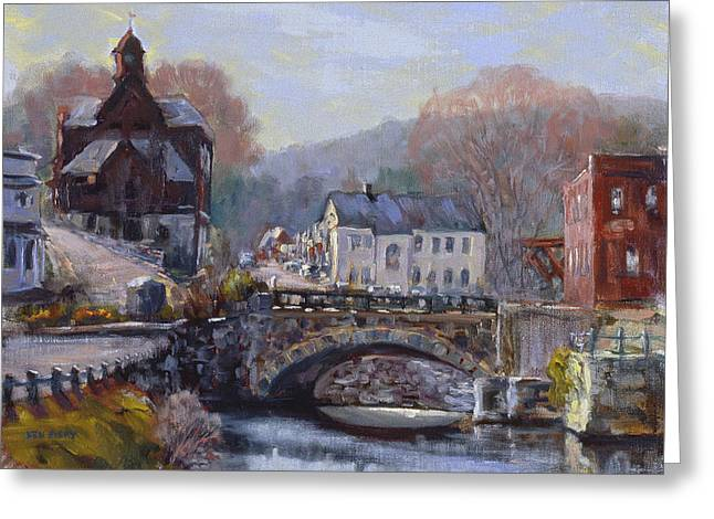 A Morning In Wilton Greeting Card