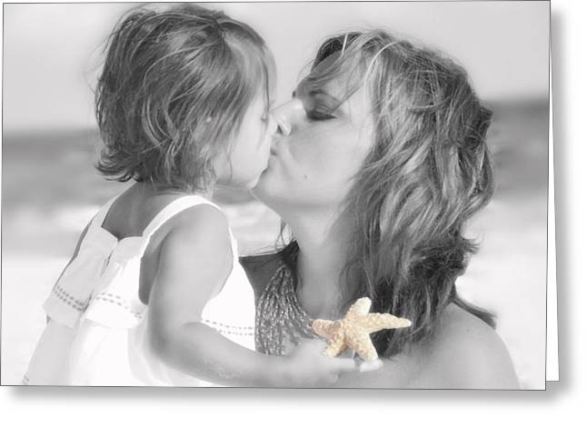 A Mother's Love Greeting Card by Alicia Morales
