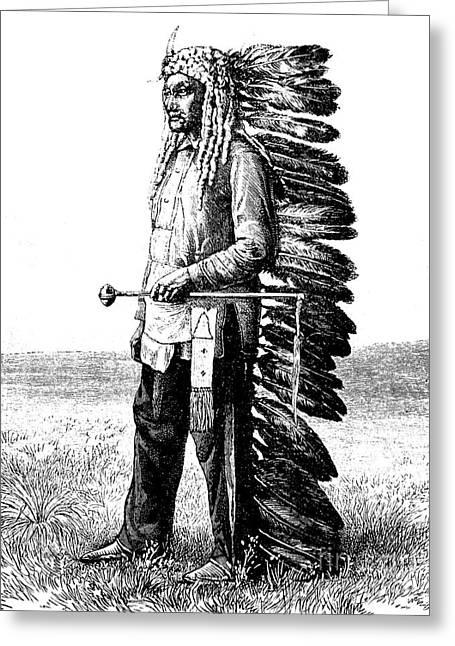 A Native American Greeting Card
