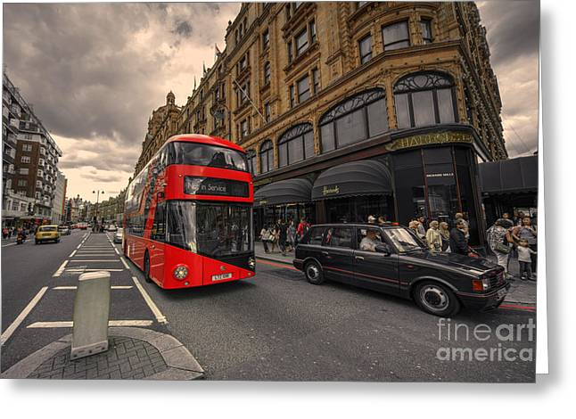 A New Bus For London Greeting Card