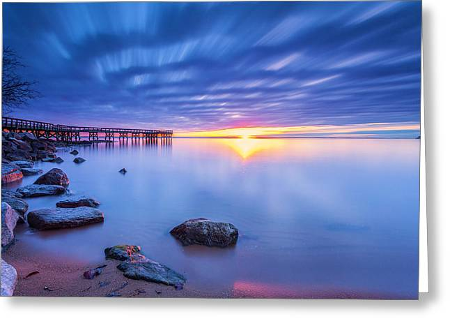 Greeting Card featuring the photograph A New Dawn by Edward Kreis