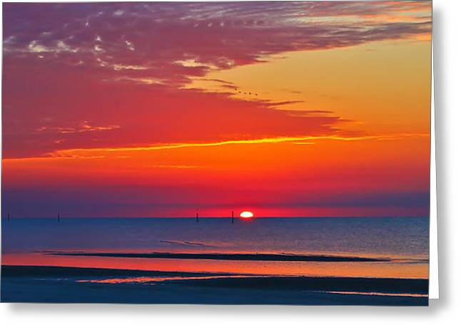 A New Day Greeting Card by Brian Wright