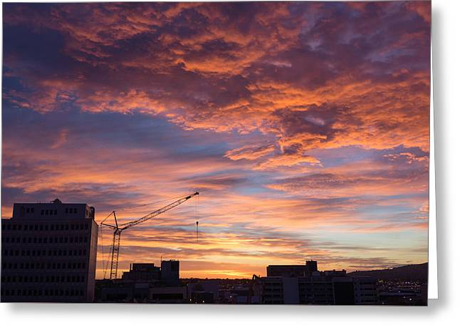 A New Day For Christchurch Greeting Card by Ian Riddler