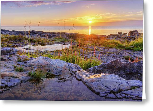Greeting Card featuring the photograph A New Day's Born by Dmytro Korol