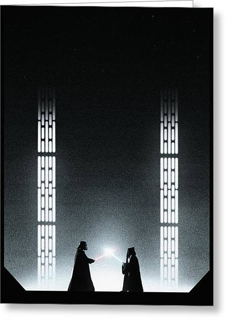 A New Hope Greeting Card by Colin Morella