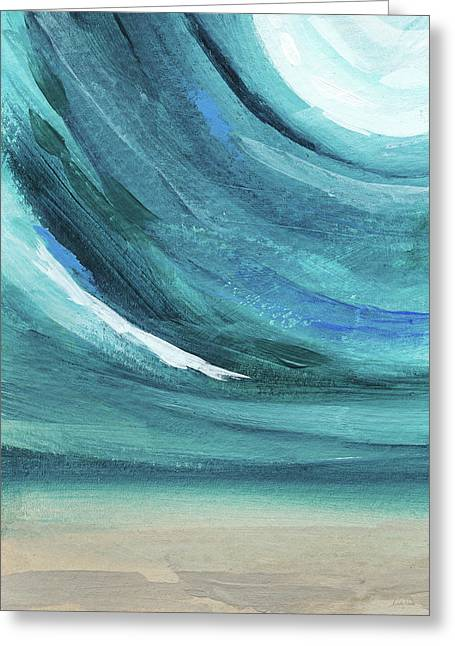 A New Start- Art By Linda Woods Greeting Card