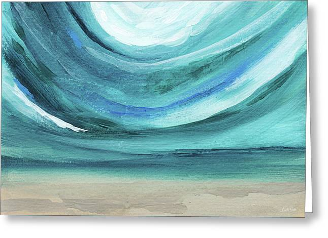 A New Start Wide- Art By Linda Woods Greeting Card by Linda Woods