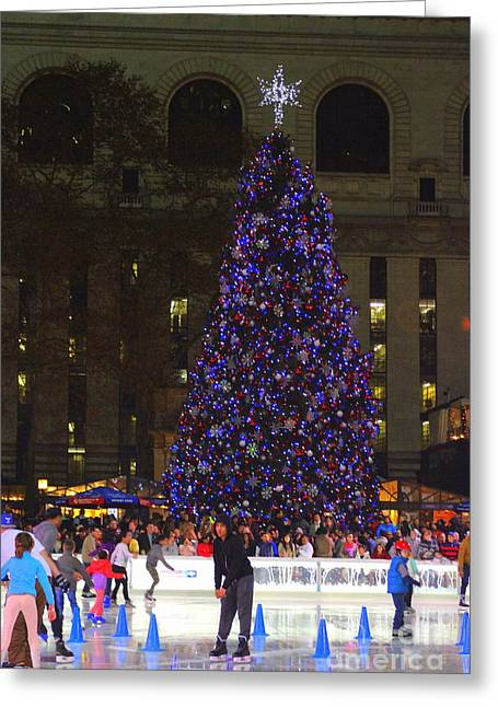 A New York City Christmas Greeting Card