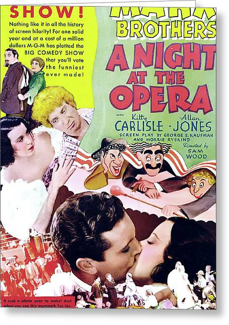 A Night At The Opera 1935 Greeting Card by M G M