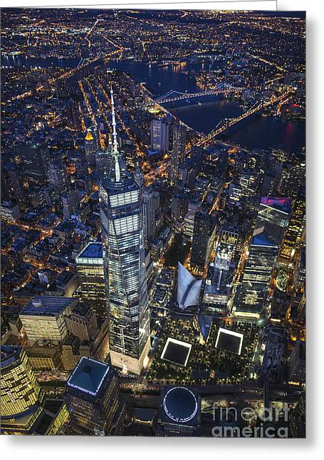 A Night In New York City Greeting Card