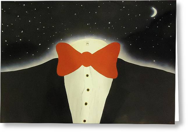 A Night Out With The Stars Greeting Card by Thomas Blood