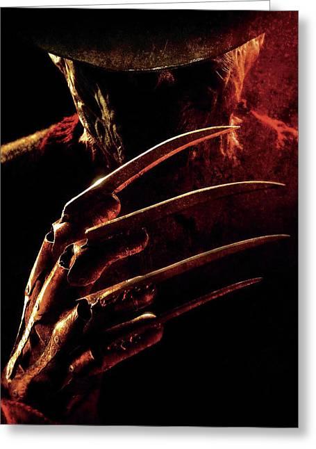 A Nightmare On Elm Street 2010 Greeting Card by Caio Caldas