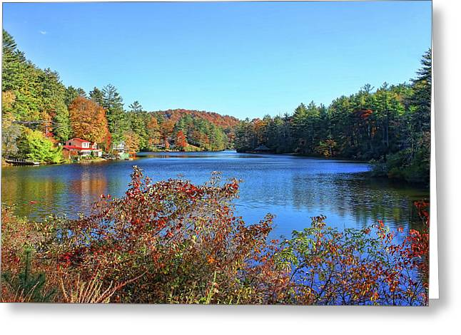 A North Carolina Autumn Greeting Card