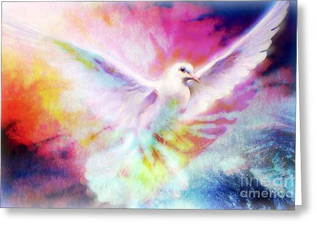 A Peace Dove Greeting Card