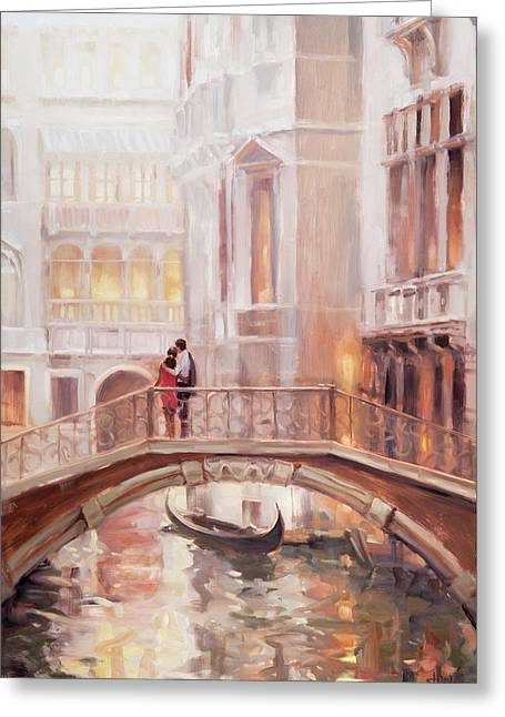 A Perfect Afternoon In Venice Greeting Card
