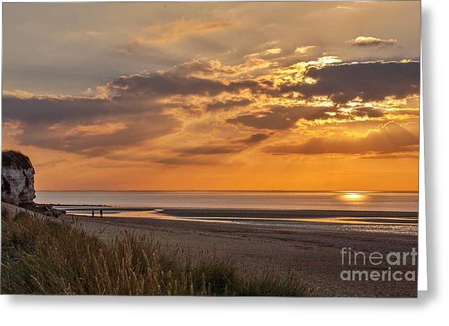 A Perfect End To A Day Greeting Card by John Edwards